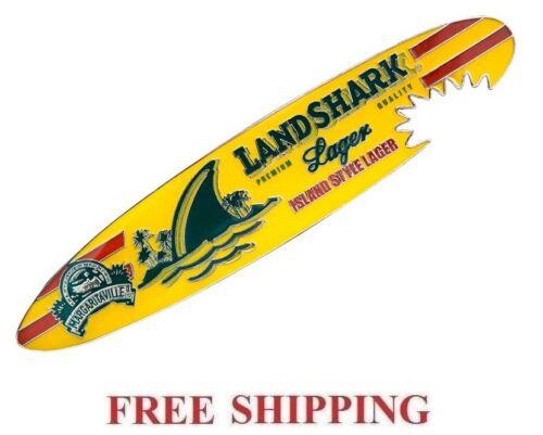 LANDSHARK LAGER SHARKBITE SURFBOARD BEER BOTTLE OPENER w// MAGNET NEW