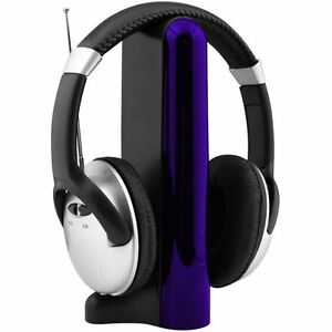 SoundLogic-4-in-1-Wireless-Headphones-for-FM-MP4-PC-TV-CD-MP3-New-Retail-Box