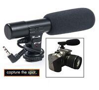 Professional Mini Condenser Microphone For Camera Camcorder Sony Nikon Canon