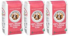 King Arthur Organic All Purpose Flour 3 Bags 2lbs Each Kosher
