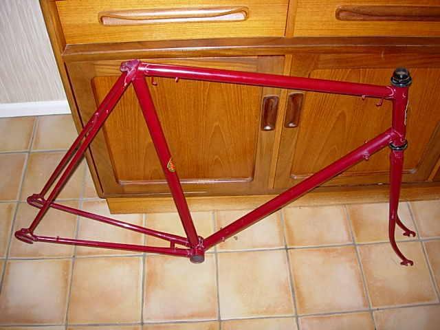 Vintage 531 Hercules cycle frame