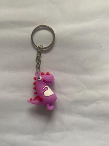 Cute Cartoon Little Dinosaur Keychain Animal Key chains For Women Bag Charm Key