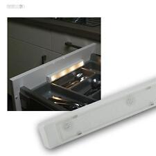 LED SMD Schubladenbeleuchtung warmweiß, Leuchte Licht Vibration Sensor Schublade
