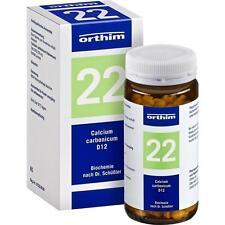 BIOCHEMIE 22 Calcium carbonicum D12   400 st   PZN4532811