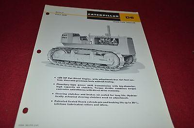 Caterpillar D6 Series B Crawler Tractor Dealer/'s Brochure DCPA6 ver2