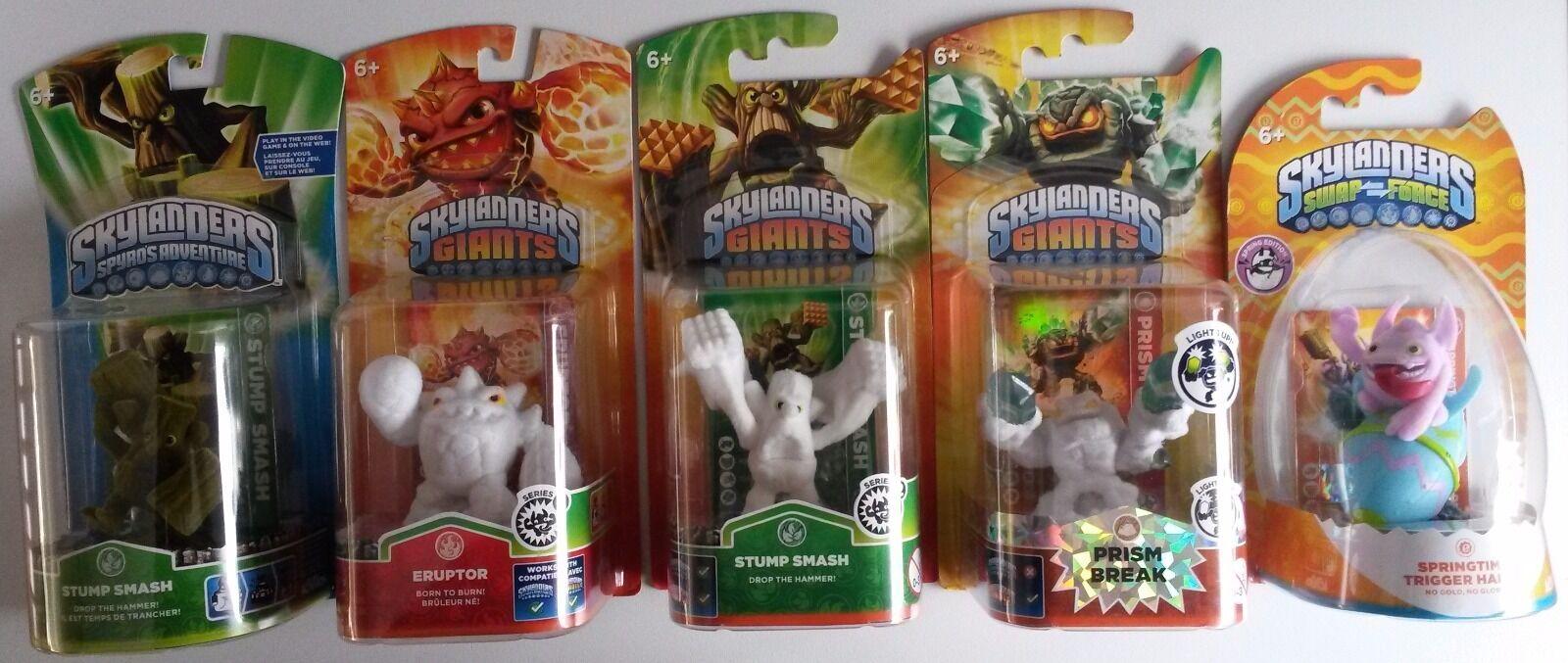 Skylanders Flocked Spyro's- Giants- Swap Force  Rare, Special