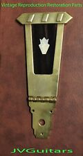 Es175 Trapeze Tailpiece GOLD Fancy UPTOWN AGED fits GIBSON Restoration JVGuitars