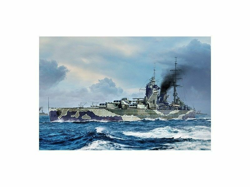 Trumpeter Hms Rodney Kit 1 700 Model Set Item 06718 Battle Ship