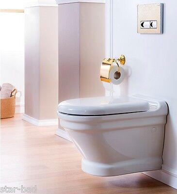 WC Sitz Absenkautomatik Softclose Creavit Duroplast Dünn Toilettensitz Deckel