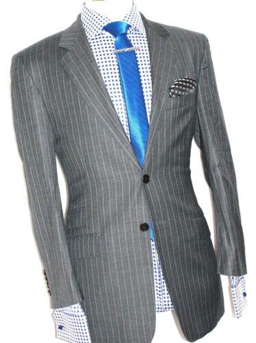 Paul 38reg The grigio Smith Abbey Stripey Xl32 W32 Road Luxury Mens Abito 54wzc7Sgfq