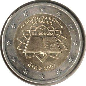 IR20007.1 - IRLANDE - 2 euros commémo. Traité de Rome - 2007
