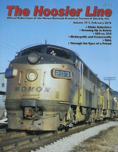The-HOOSIER-Line-MONON-Railroad-Historical-Society-1st-Qtr-2018-NEW-issue