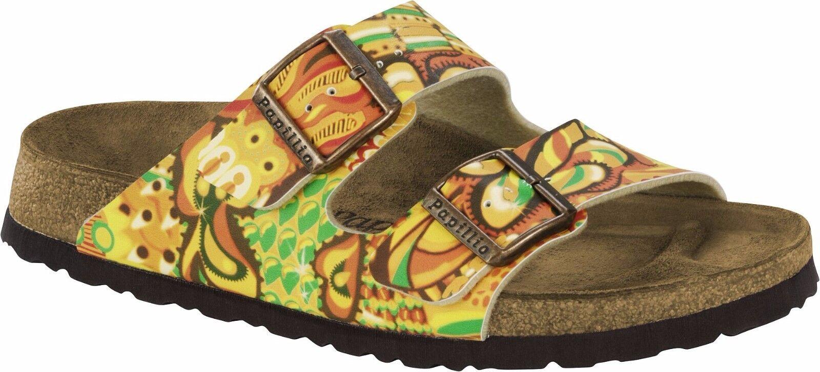 Último gran descuento Papillio Arizona African Wax Gold Gr. 36,37,38,39,40,41,42,43 schmales Fußbett