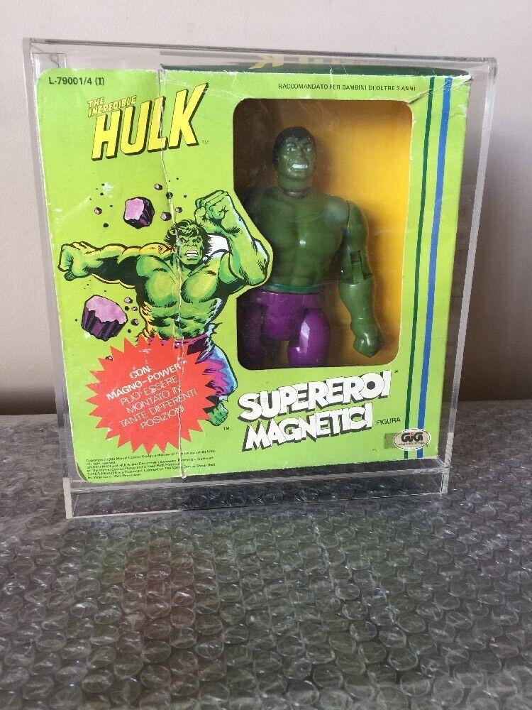 VINTAGE  MARVEL HULK MAGNETIC RARE 1979 Hong Kong 6.7