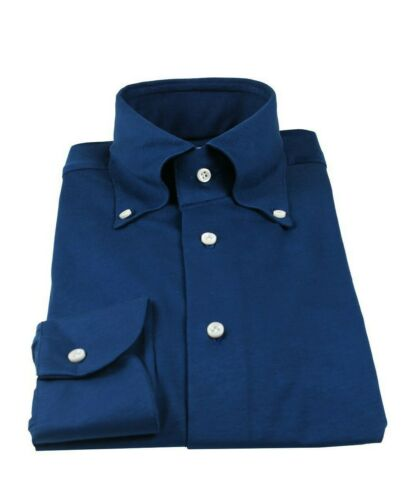 a ¡Shirtmaker 4 botones 3 Kiton Camisa Napoli 40 hecha con Artigiani mano us 15 xqBZRXW