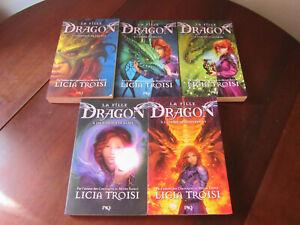 LA FILLE DRAGON de Licia Troisi - Série Complète en 5 livres