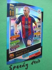 Topps Champions League 2016 17 limited Edition Pro11 Iniesta Match Attax