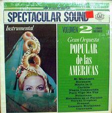 Gran Orquesta Popular de Las Americas Vol 2  Spectacular Sound     LP