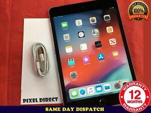 Apple iPad mini 4 64GB Wi-Fi, 7.9in Retina Display iOS -14 Grey Ref 720