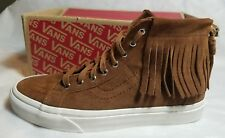 c1bdc5e88acb7c item 5 Vans SK8-Hi Moc Monks Robe Suede Moccasin Tan Skate Shoe Size Women  10