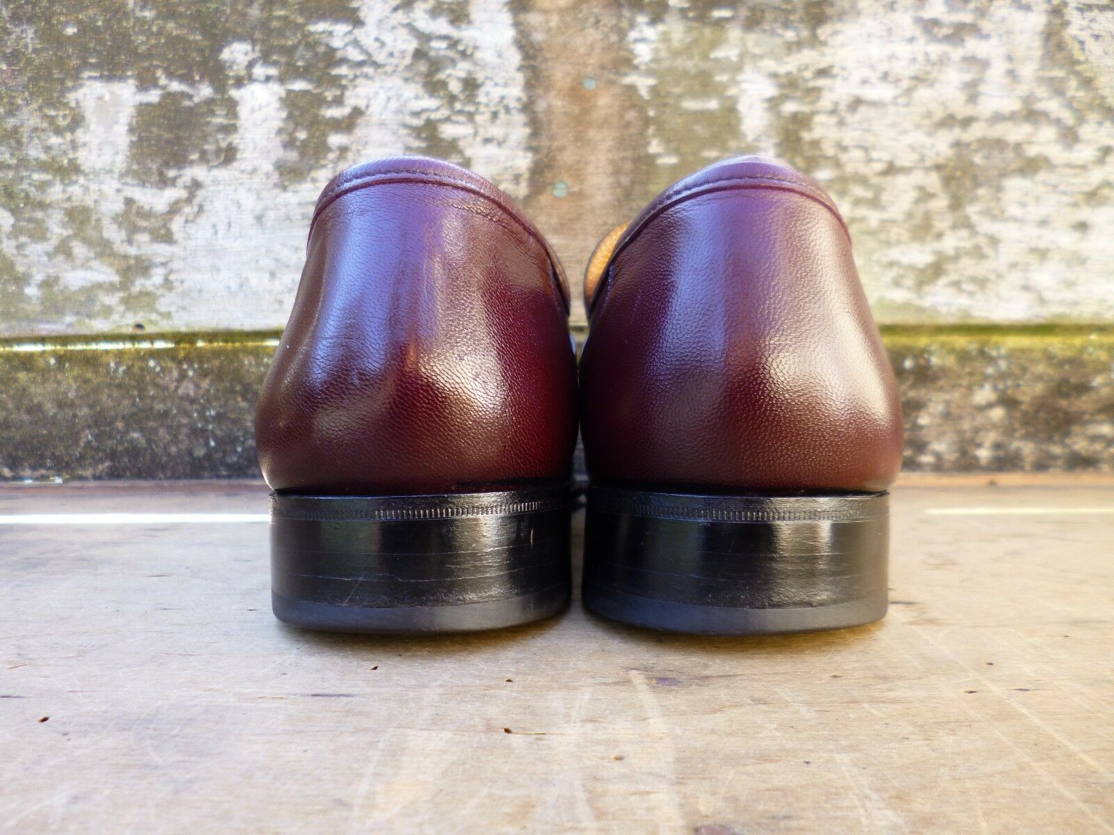 CHEANEY / CHURCH LOAFERS – BROWN / OXBLOOD – -EXCELLENT UK 9.5 – LEEDS -EXCELLENT – CONDITION 38bab1