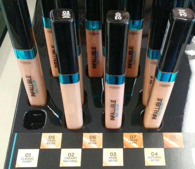 New Loreal Infallible Pro-Glow Concealer L'ORÉAL Choose Shade