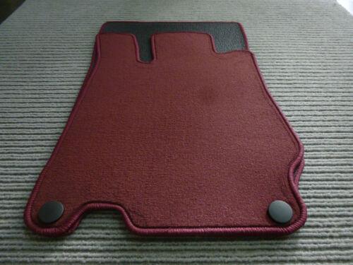 NEU WEINROT Original Lengenfelder Fußmatten für Mercedes Benz SL R230 AMG