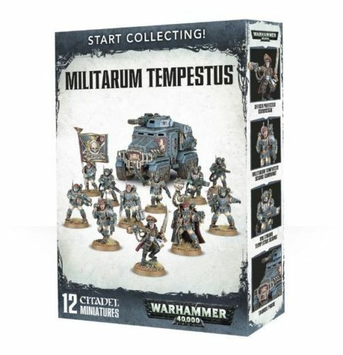 Start Collecting  Militarum Tempestus Warhammer 40k Games Workshop NEW
