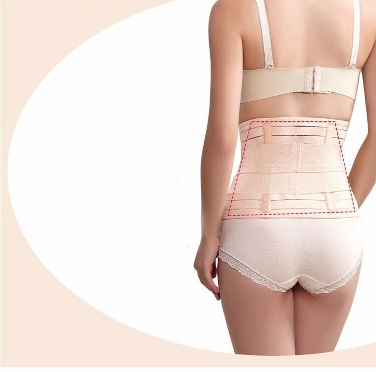 Womens Fat Burning Waist Slimming Belt Tummy Control Stomach Wraps