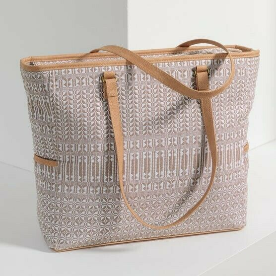 Thirty One Cindy Tote in Canyon Weave NIP