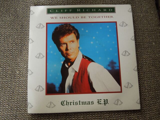 """Cliff Richard We Should Be Together RARE 7"""" Single"""
