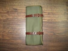New Ural 650 Handmade Canvas Tool Roll Light Brown Straps