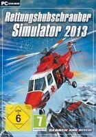 Pc Spiel Rettungshubschrauber Simulator 2013 Helicopter Hubschrauber Simulation