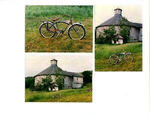 50s SCHWINN BLACK PHANTOM BICYCLE ORIGINAL