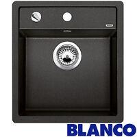 Blanco Dalago 45 1.0 Bowl Anthracite Black Silgranit Granite Kitchen Sink