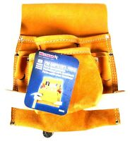 Westward Nail/tool Pouch 3 In L Carpenters Nail & Tool Pouch Top Grain Leather