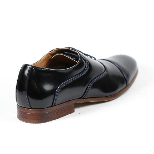Ferro Aldo Men/'s Lace Up Dress Classic Oxford Shoes w// Leather Lining MFA-19328