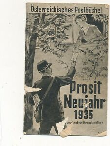 Nr.42508  Broschüre Österreichisches  Postbüchel 1935