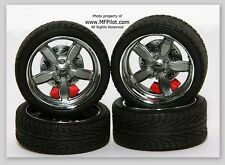 STREET FIGHTER WHEELS, TIRES & ROTORS - 1/18 GMP Parts #18826 - FREE SHIPPING