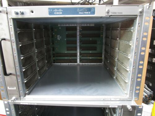 CISCO 7606-S Chassis with THERM-7606S FAN-MOD-6SHS