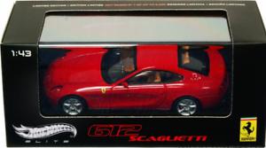 Ferrari 612 Scaglietti Red V8375 1//43 Hot Wheels Elite