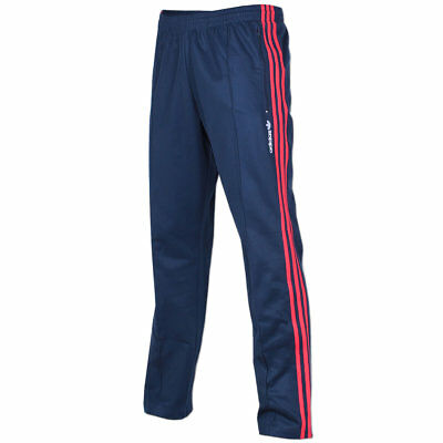 adidas Herren Originals Trainingshose Europa Track Pant Trefoil Hose blau rot | eBay