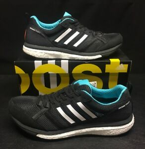 cheap for discount 67512 ad231 Image is loading 140-Adidas-ADIZERO-Tempo-9-Boost-Running-Shoes-