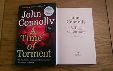 JOHN CONNOLLY SIGNED A Time Of Torment Book 1st edition 1st impression + free CD