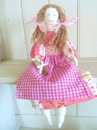 Vintage Rag Doll Craft Kit Patchwork Toy Sewing Kit Easy to Make & Gorgeous!!