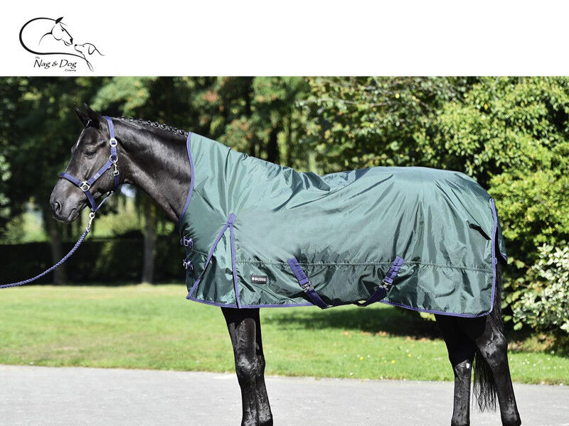 Busse RIGA 840D Outer High Neck Turnout Rug Lightweight Fleece Lined FREE P&P
