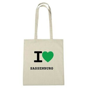 Eco Ambiente Sassenburg Love Medio De Bolsa Color I natural Yute 51R00q