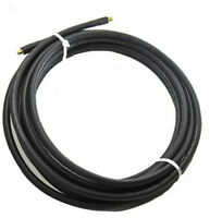 Alfa RP-SMA Male to Female antenna extension cable 10m CFD-400 shielded low loss
