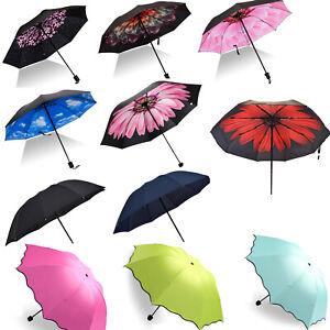 e001d02d6ec6 Women Compact Umbrella Automatic Folding Windproof Travel Handle ...