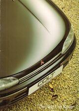 Mitsubishi Colt 1992-94 UK Market Sales Brochure 1800 GTi 1600 GLXi 1300 GLi